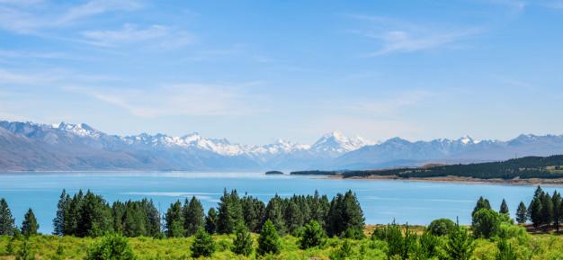 Lingkungan Nyaman di New Zealand - Mt. Cook